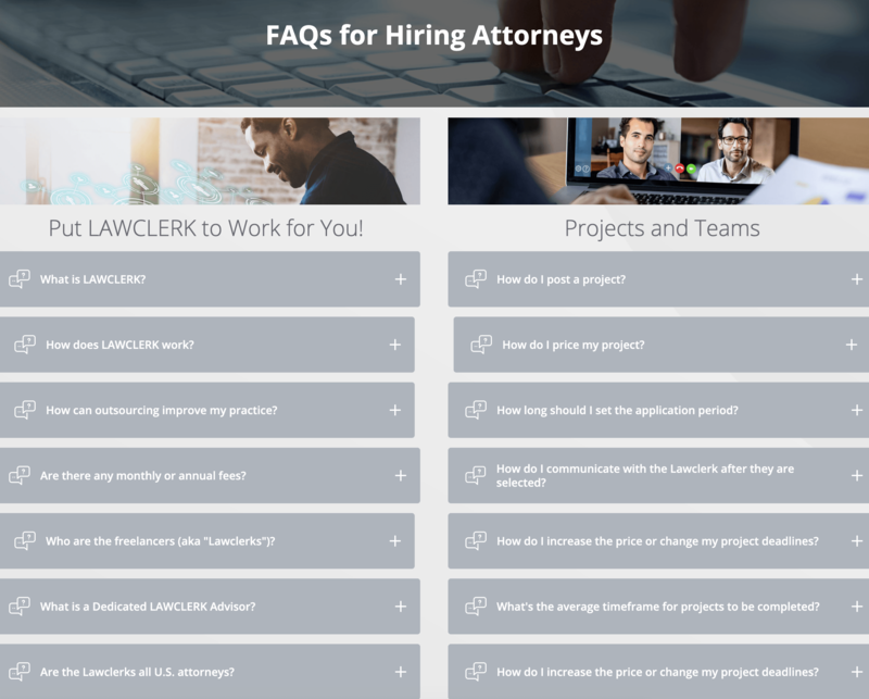 FAQ's for Hiring Attorneys